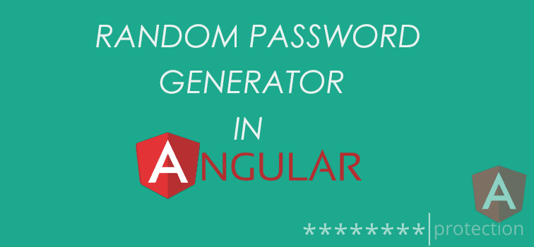 Random Password Generator With AngularJS