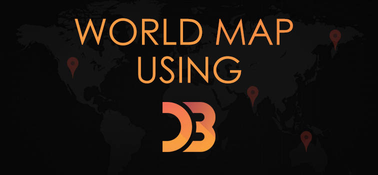 World Map Using D3 JavaScript liry | Geeks Trick on